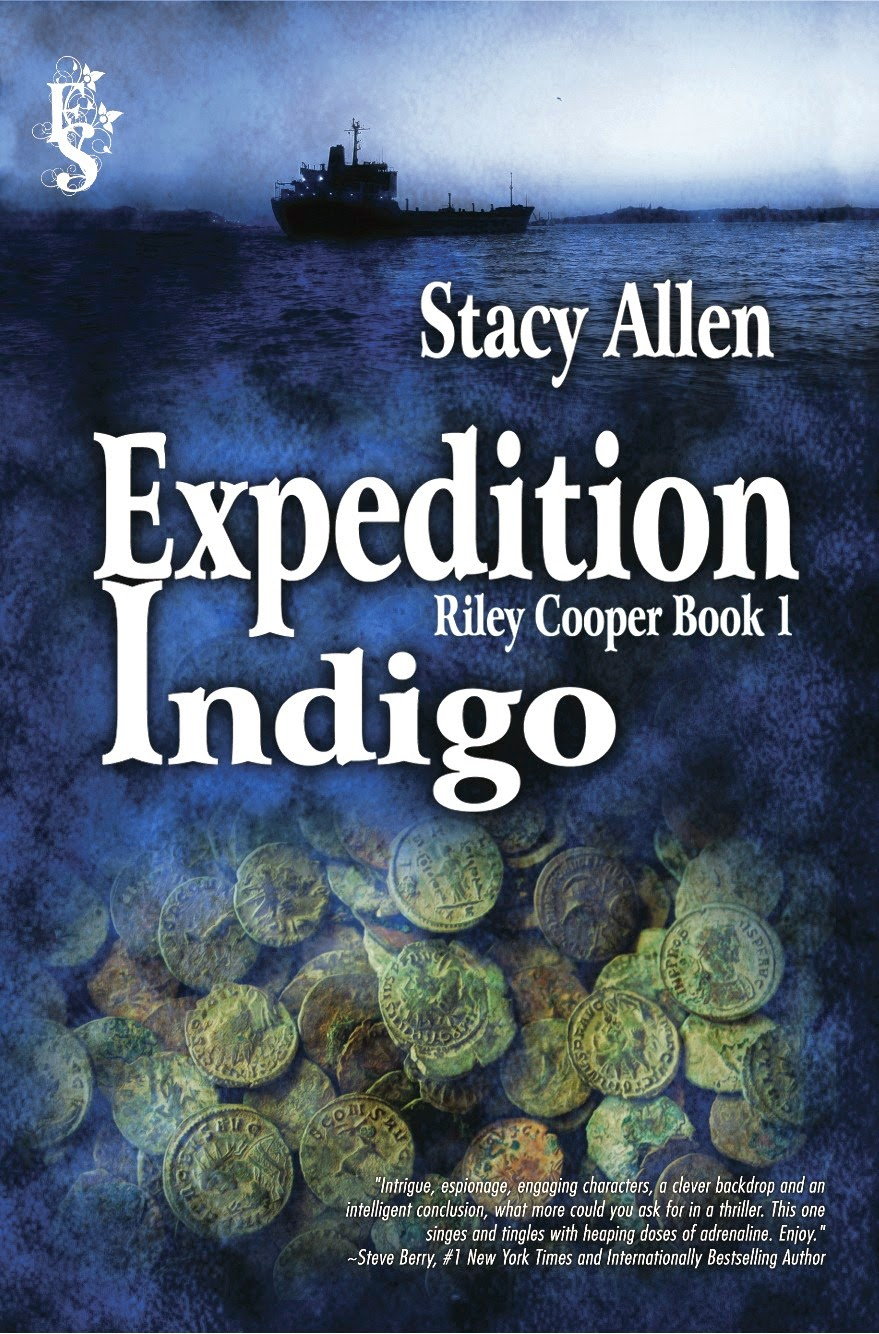 Stacy Allen Is The Author Of Expedition Indigo , The First In A Series,  Which Debuted August 2014, And Features Dr Riley Cooper, A Scubadiving