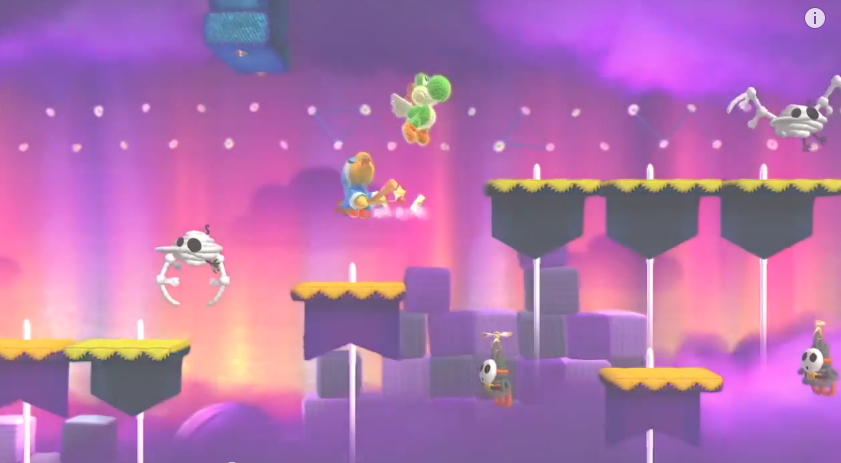 Yoshi's Woolly World Kamek's Last-Ditch Flyby Mellow mode Nintendo Direct