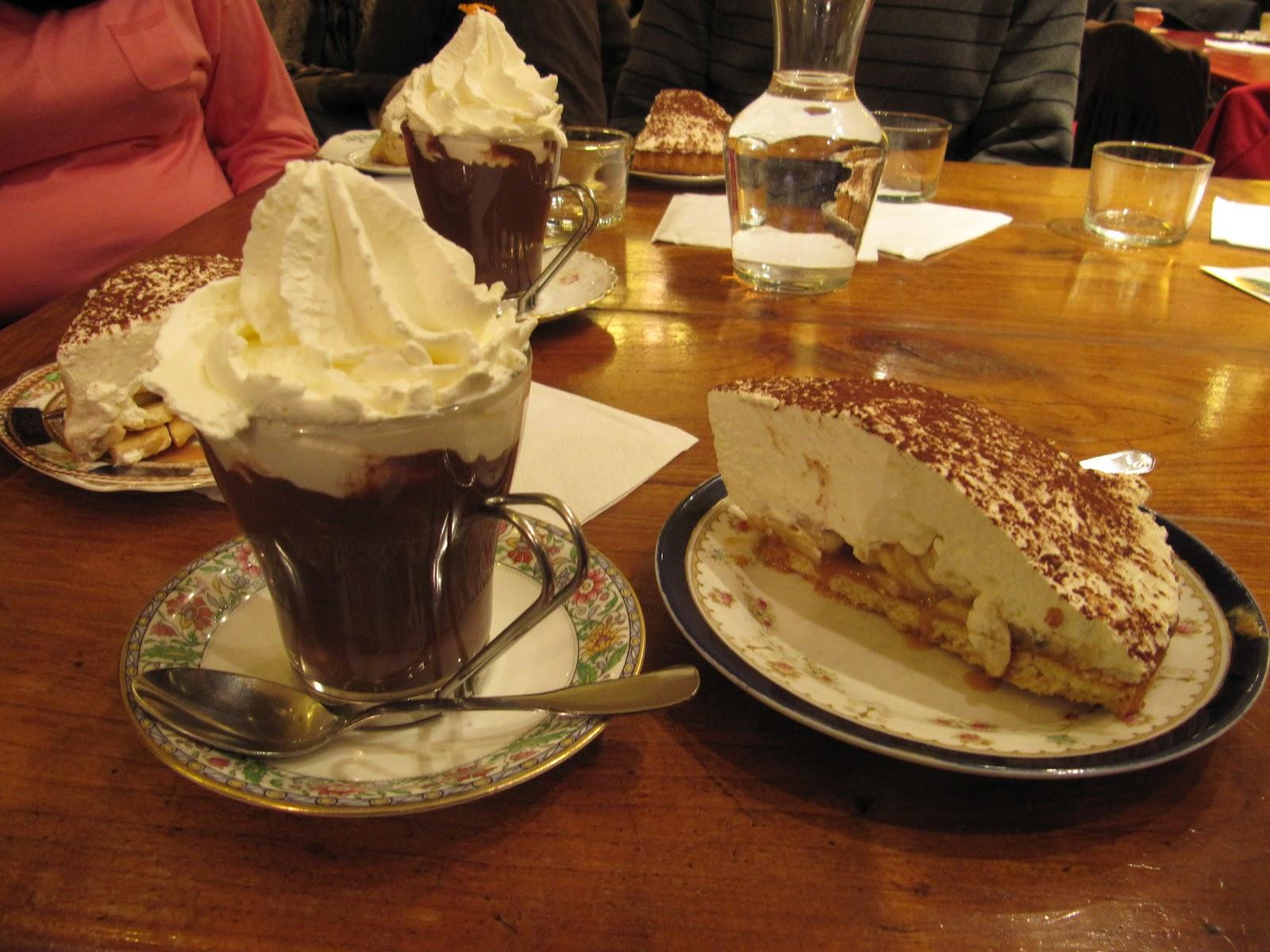 Chocolat et pâtisserie: Chocolat chaud épais... comme dans les ...