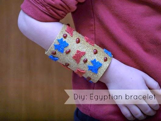 Brazalete egipcio - Diy: Egyptian bracelet