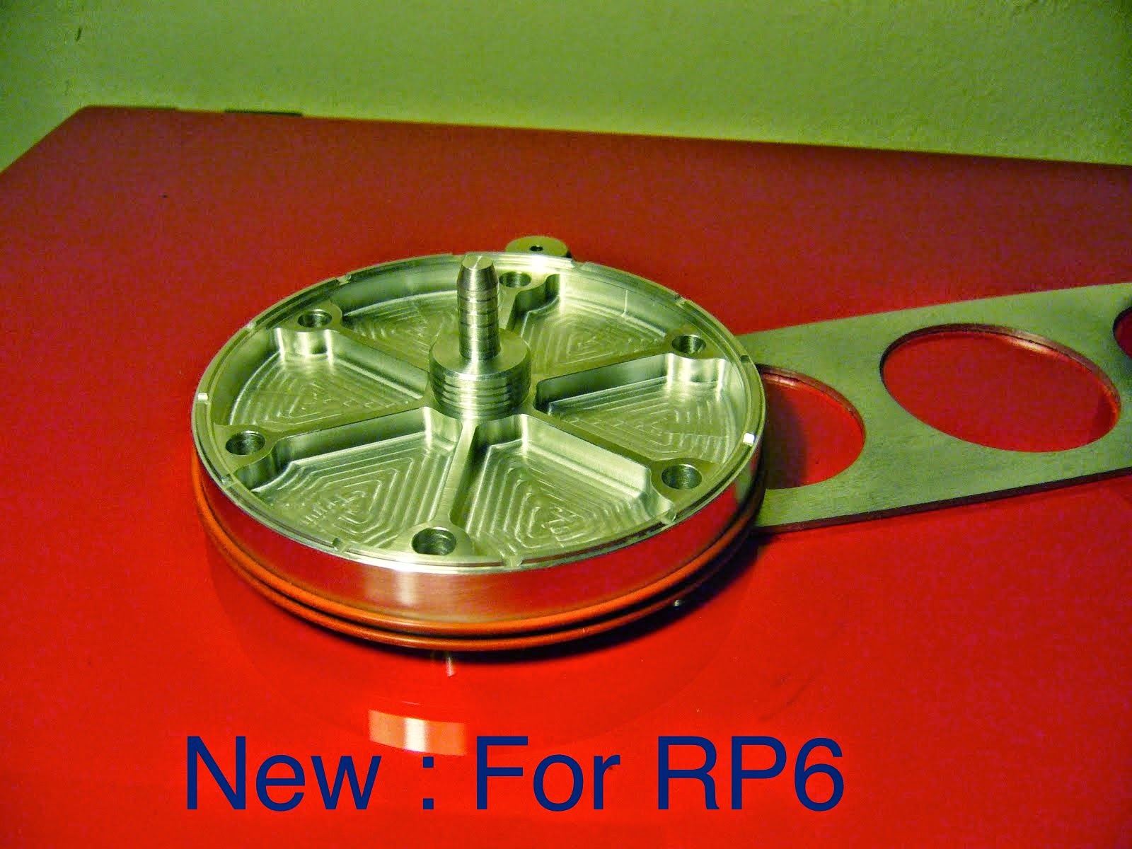 NEW : Click to view FULL Size Aluminium Subplatter for RP6