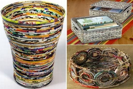 Paper Basket Design Paper Trash Basket