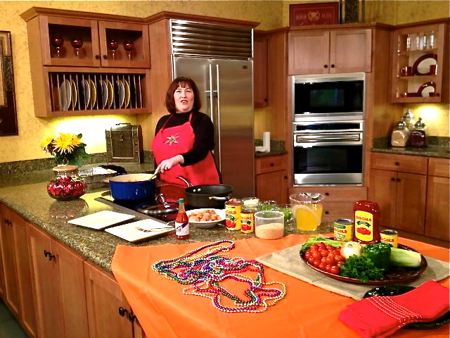 The Weekend Gourmet: The Weekend Gourmet's TV Debut: Cooking ... on wb kitchen, in the kitchen, og kitchen, moh kitchen, uv kitchen, miliband kitchen, el kitchen,