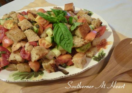 Southerner At Heart: End of Summer Panzanella