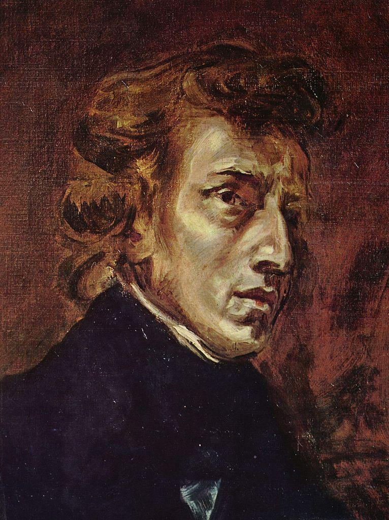 Eugène Delacroix  - Frédéric Chopin, 1838