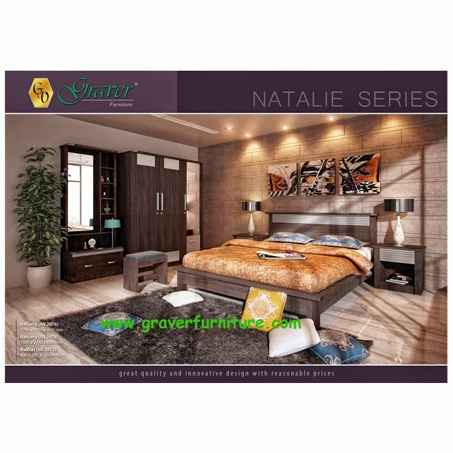 Bedroom Set Natalie Series Graver Furniture