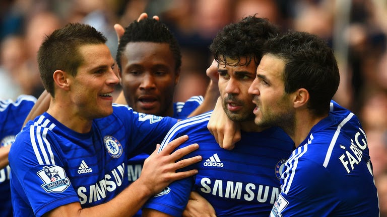 Chelsea v Arsenal: Victorious Blues in complete control