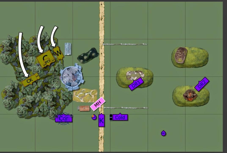 A Warhammer Fantasy Battle Report between Dark Elves and Warriors of Chaos.