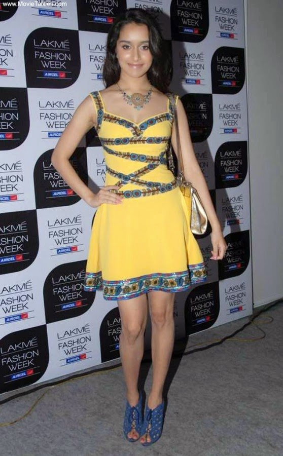 Shraddha at Nishka Lulla Show at Lakme Fashion Week