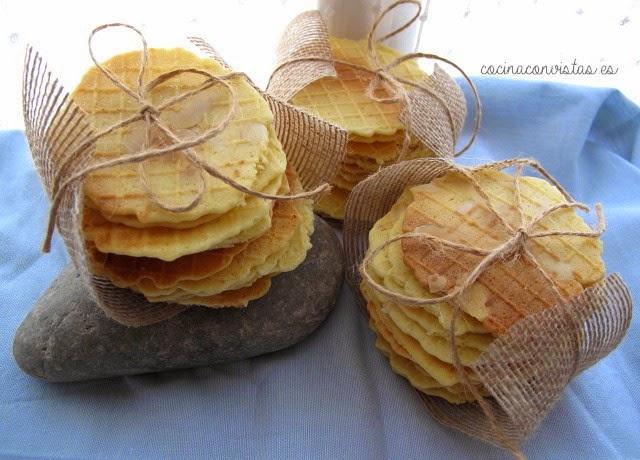 Galletas de Almendra y Espuma de Manzana Verde (con Polvo de Hadas)