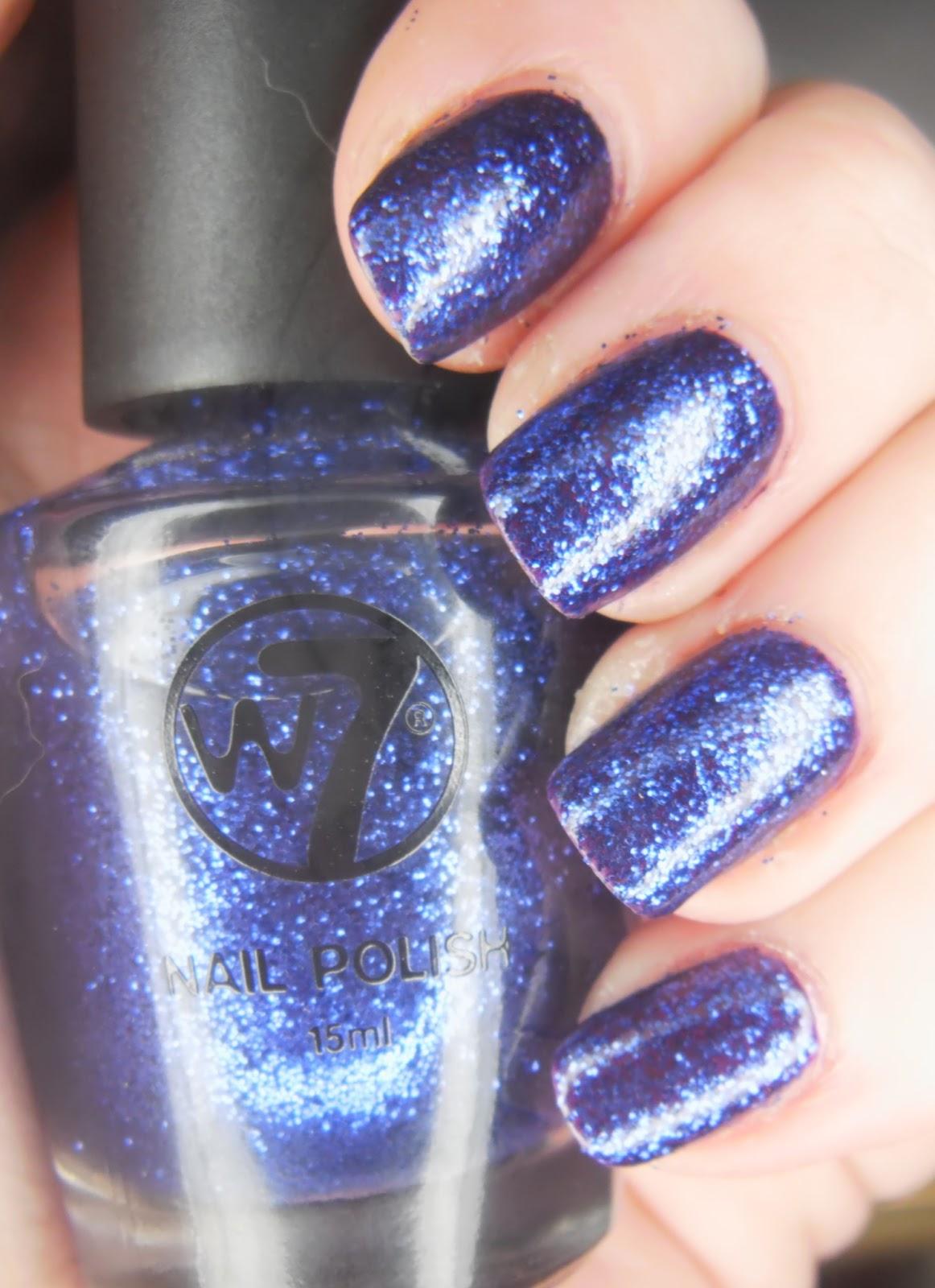 SpecialGirl Nails: Saturday Swatch Spam: W7 Purples
