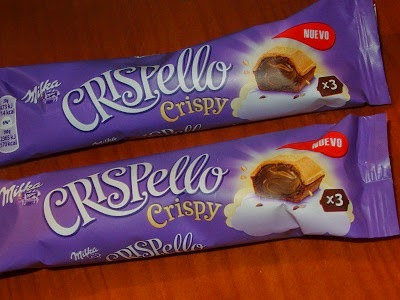 Crispello Crispy, Milka