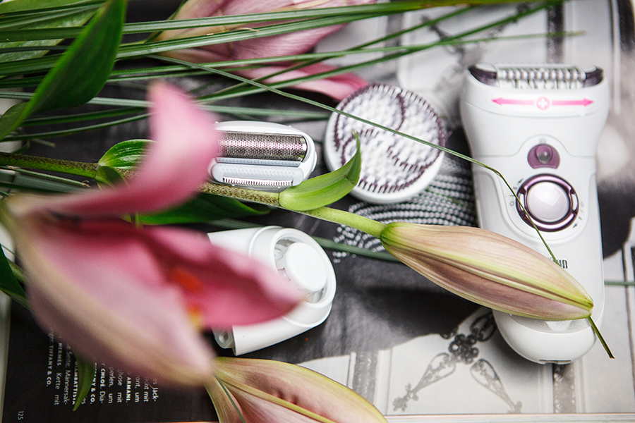 Testbericht Epilierer Silk Epil, Peelingbürste, Aufsatz, Beauty, Blogger, Rasur, Alternative zum rasieren,