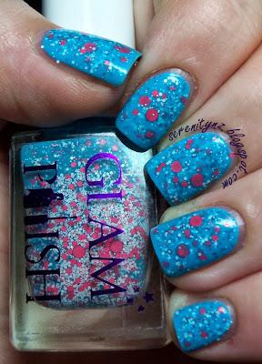 Glam Polish she had a lipstick taser swatch