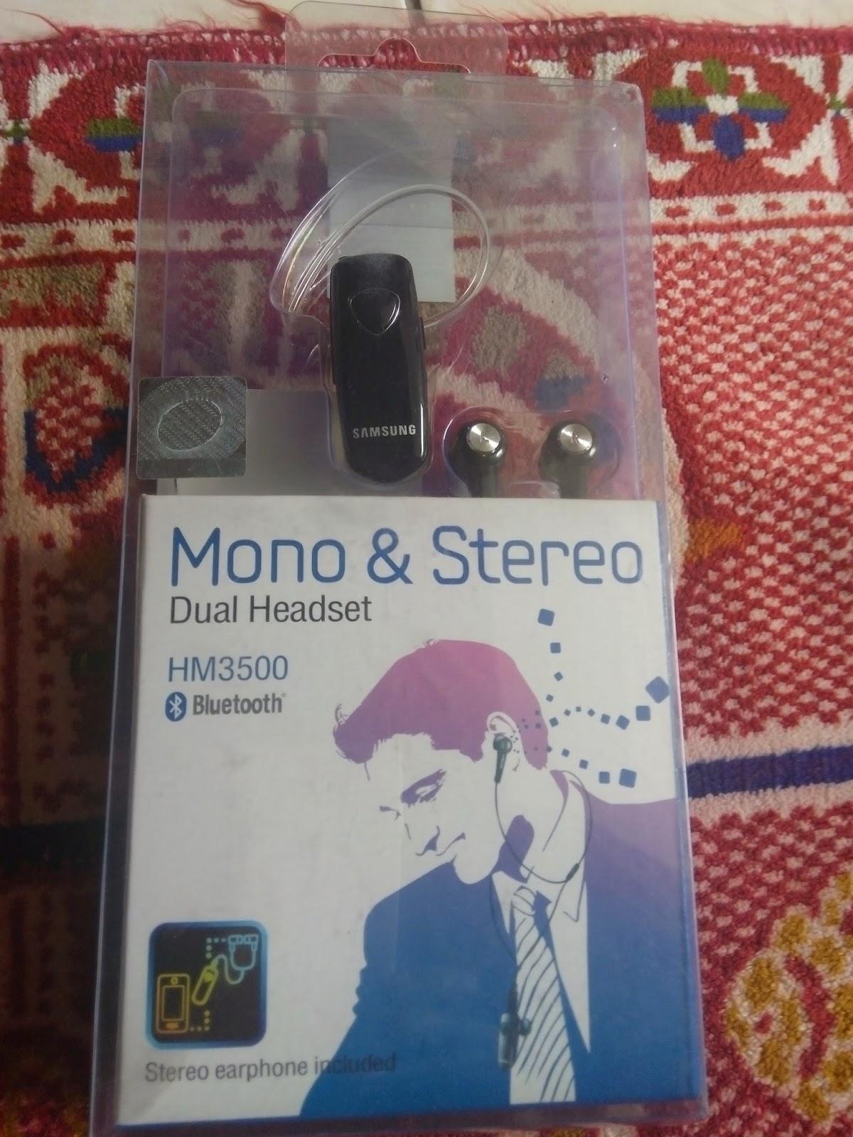 Soluna Olshop Headset Bluetooth Samsung Hm 3500 Dual Headse Dapat Digunakan Di Semua Tipe Merk Handphone Yang Memiliki Fitur Bisa Untuk Telepon Dan Musik