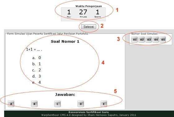 Cara Melakukan Tes Online Sertifikasi Guru (Full Gambar Tutorial)