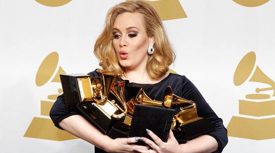 Grammy 2012 Adele sostenibilità