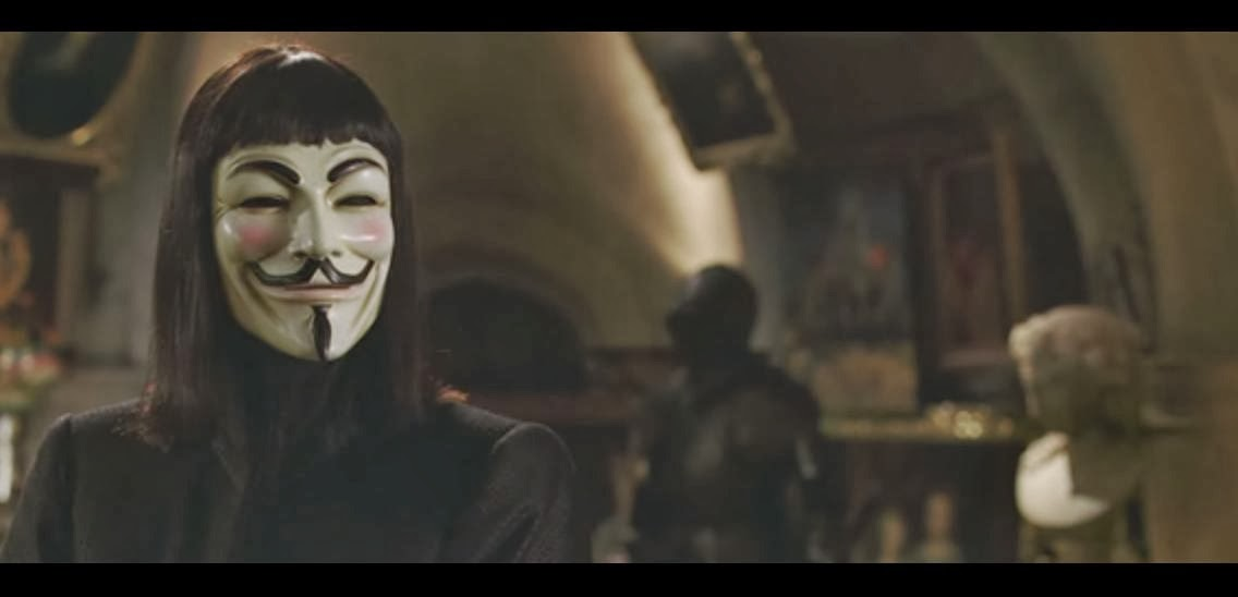 v for vendetta belonging essay Throughout v for vendetta, evey struggles with her conflicted feelings for her father—feelings that have enormous ramifications for her relationship with v and with the norsefire state evey's father, whom she adored, was arrested by the norsefire government for his socialist leanings when evey was a child.