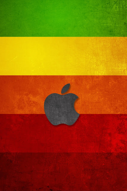 Colorful Apple Logo iPhone Wallpaper By TipTechNews.com