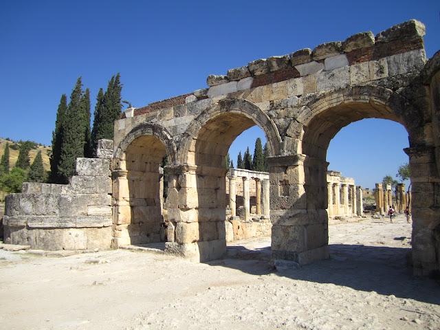 Hierapolis, Pamukkale, Turkey.