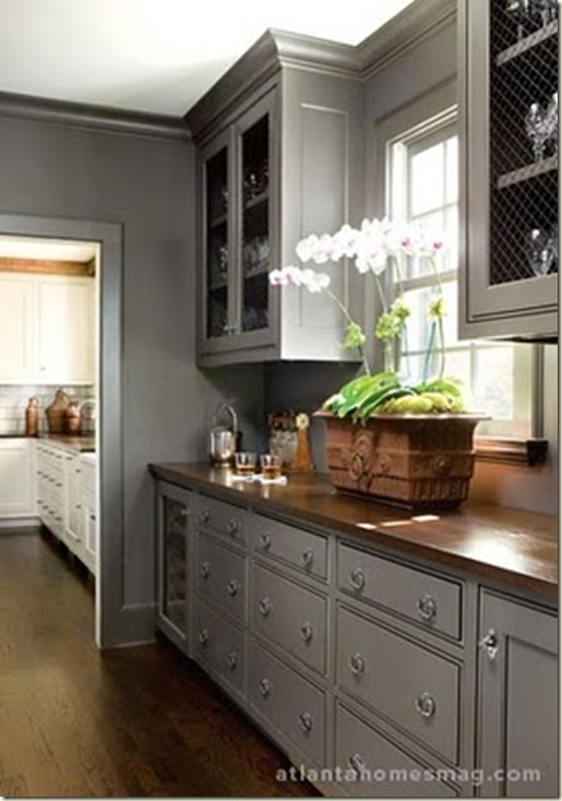 Abode Love A Man 39 S Home Is His Wife 39 S Castle Gray Cabinetry