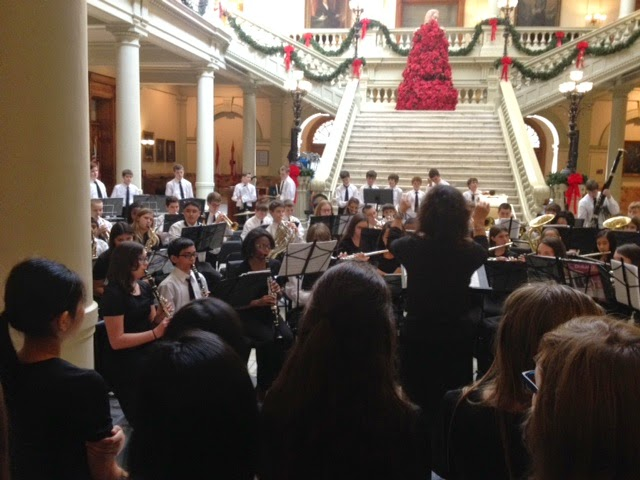 7th Grade Band State Capitol 2014