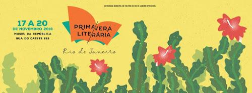 Dois eventos literários no Rio, em novembro
