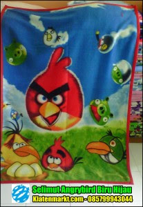 Selimut angry bird