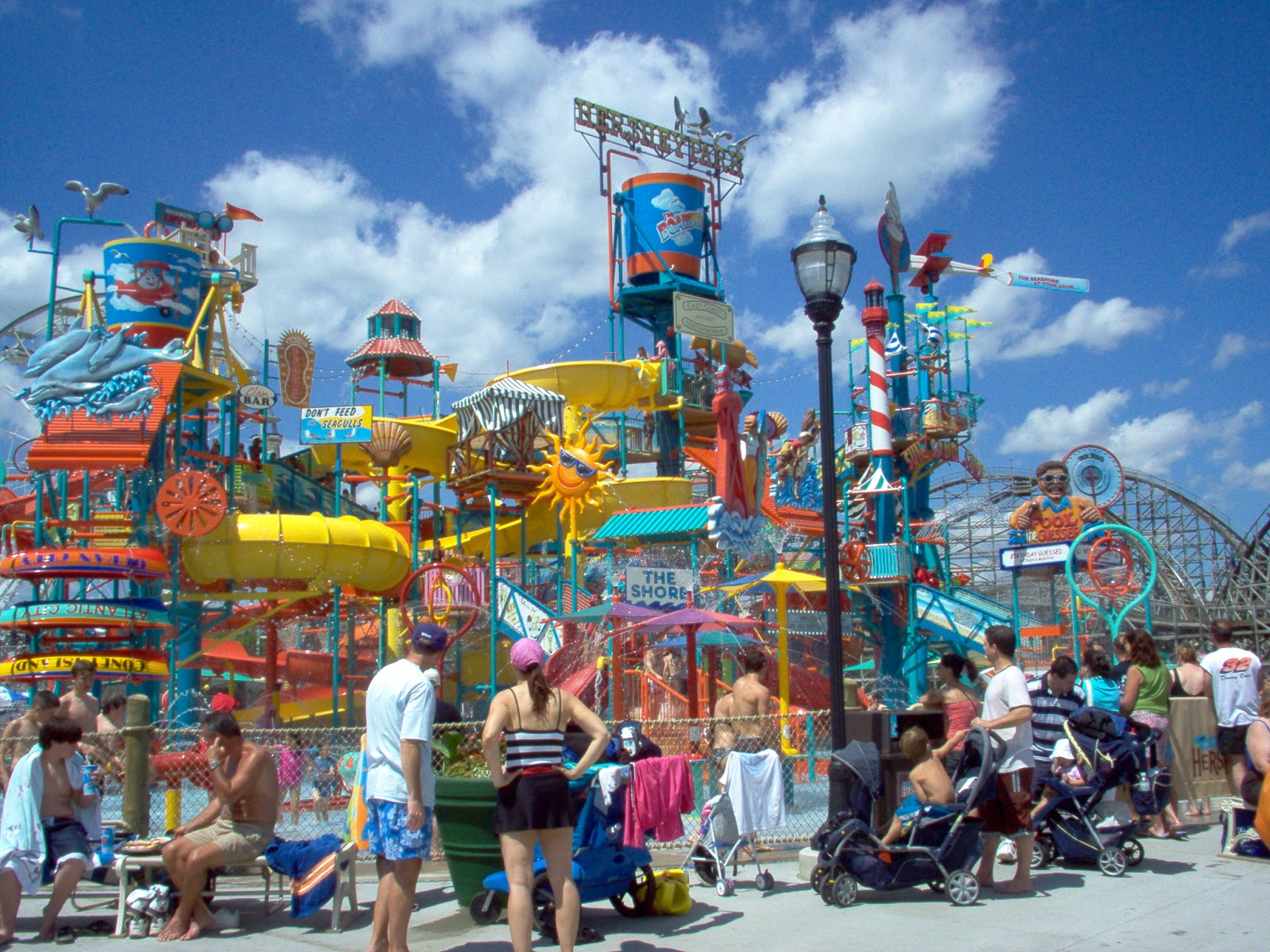 World Visits Have A Ride At Hershey Park Just View In Pictures