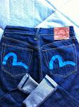 lovely evisu jeans size 32