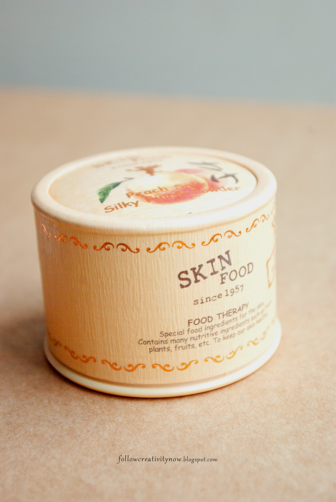 puder Peach Sake Silky Powder SkinFood opinia