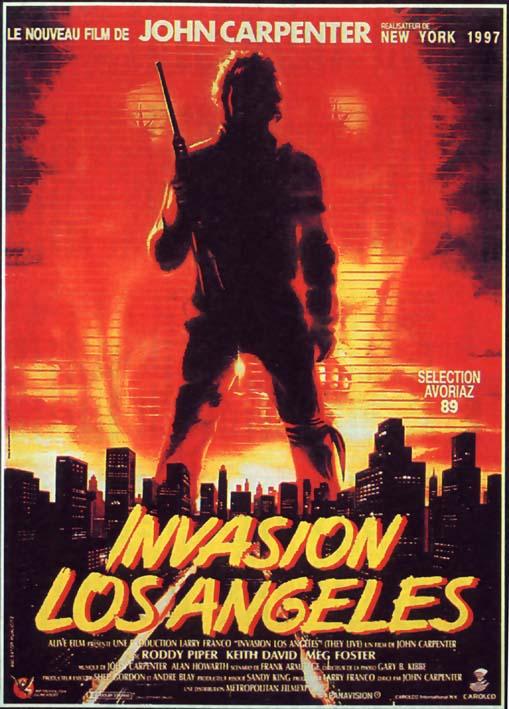 Invasion Los Angeles affiche
