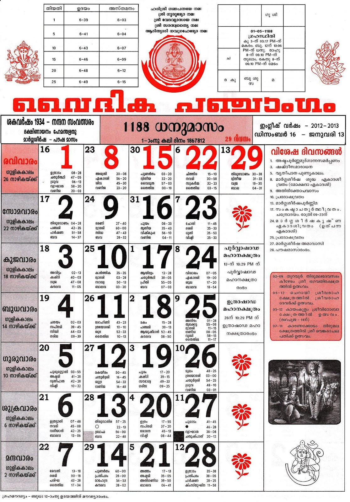 Mathrubhumi Calendar 2015 January/page/2 | New Calendar Template Site