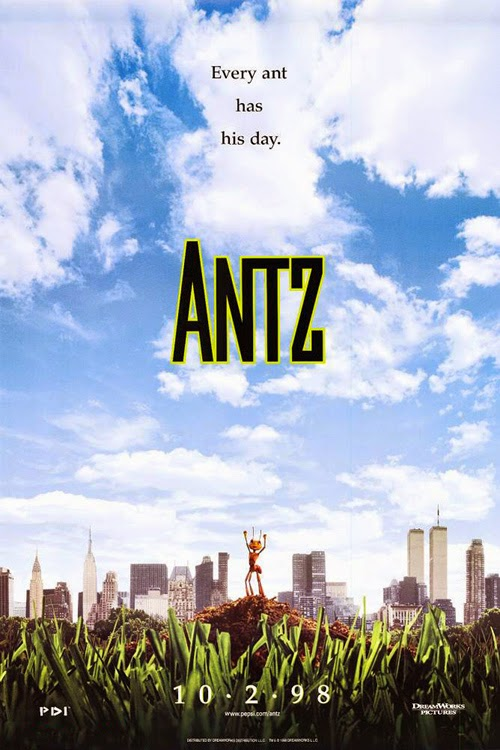 Antz poster animatedfilmreviews.filminspector.com