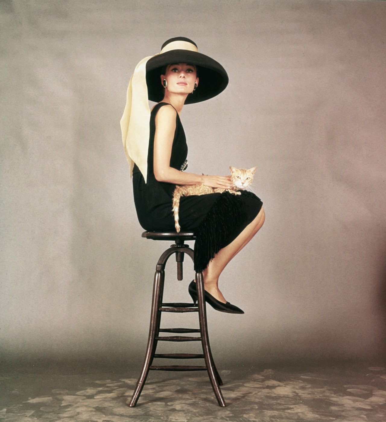 15 Rare And Beautiful Studio Photo Shoots Of Audrey