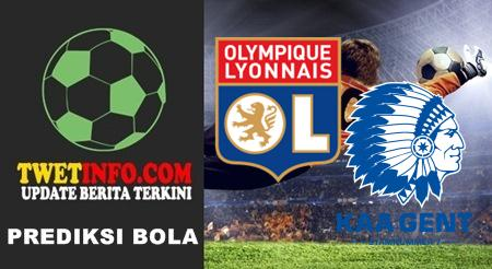 Prediksi Olympique Lyonnais vs KAA Gent