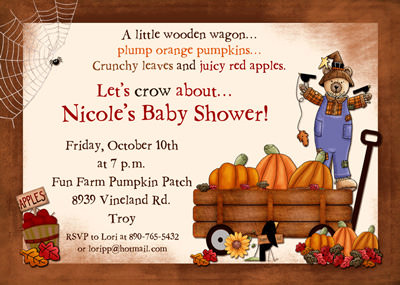 Autumn Baby Shower Invitations4