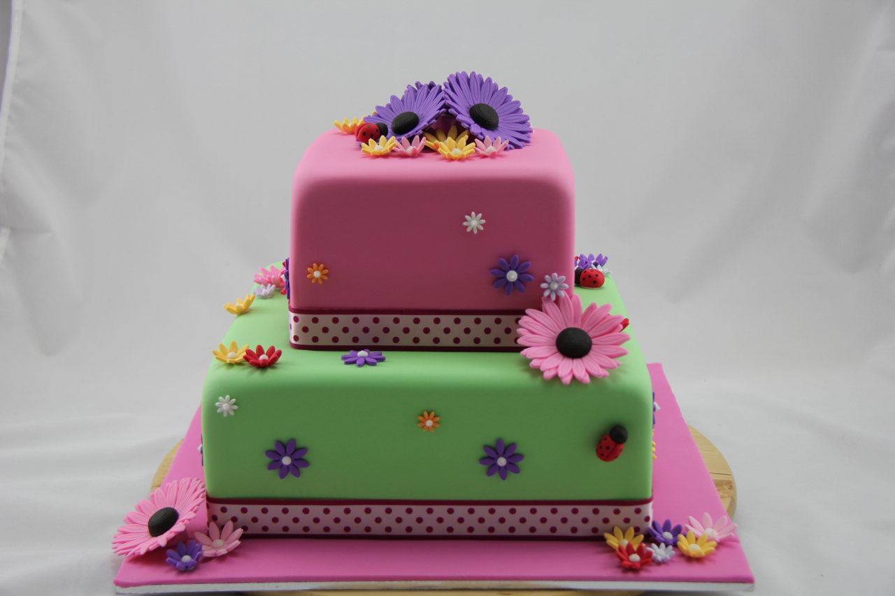 Coco Jo Cake Design 40th Birthday Gerbera Cake