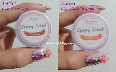 Review Amethyst Lippy Scrub