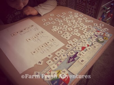 photo journal preschool homeschool