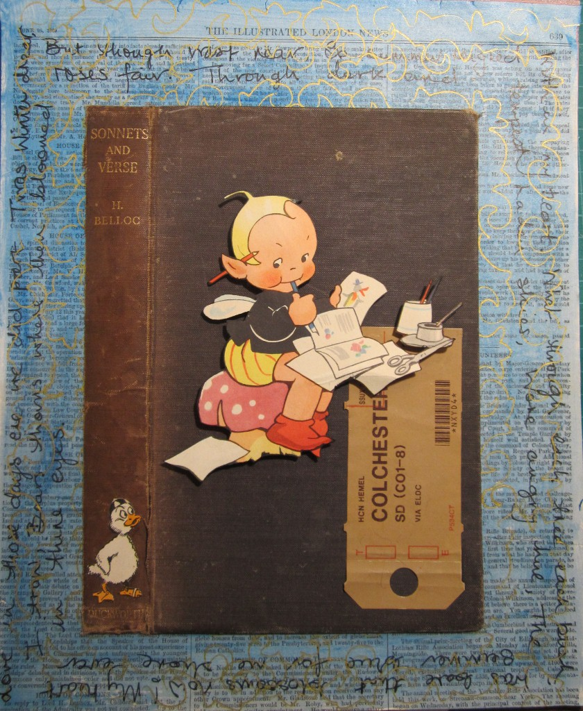 Book Cover Collage Name : Mad bird designs uk vintage book covers and collage