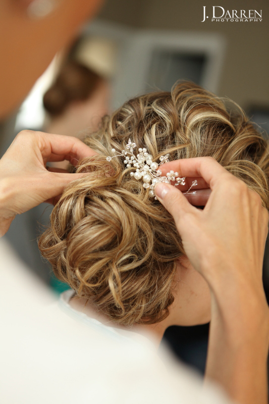 Wedding day hair and make up