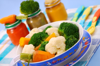 Baby's First Vegetable Purees Recipe