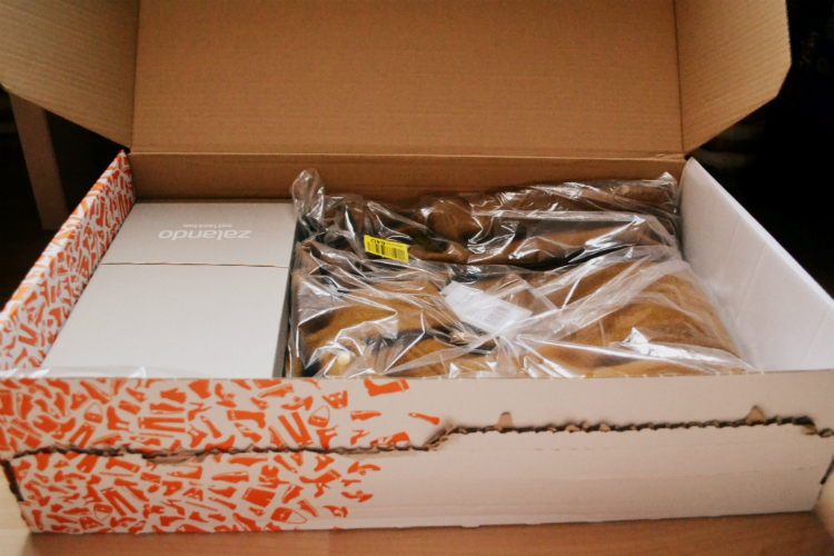 zalando coat parcel
