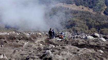 death zone gunung semeru