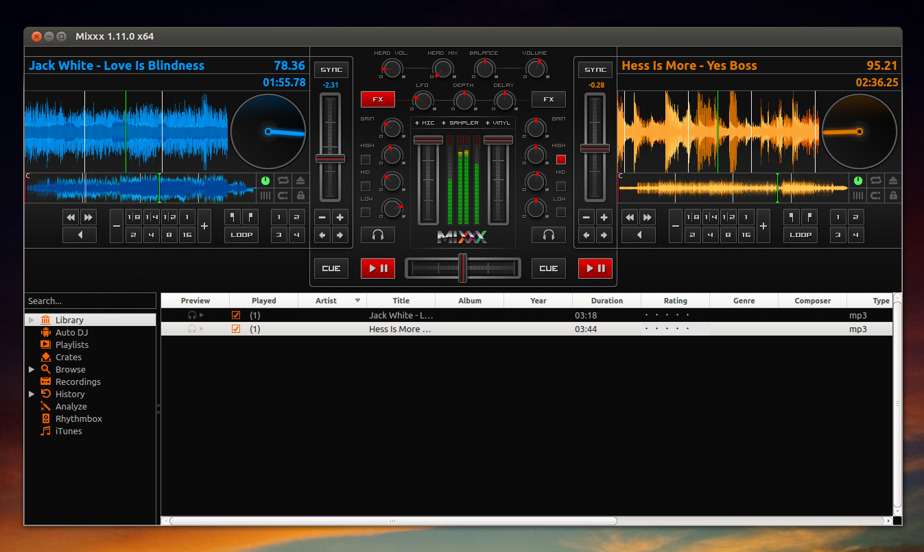 Free Dj Software Mixxx Sees New Release Web Upd8