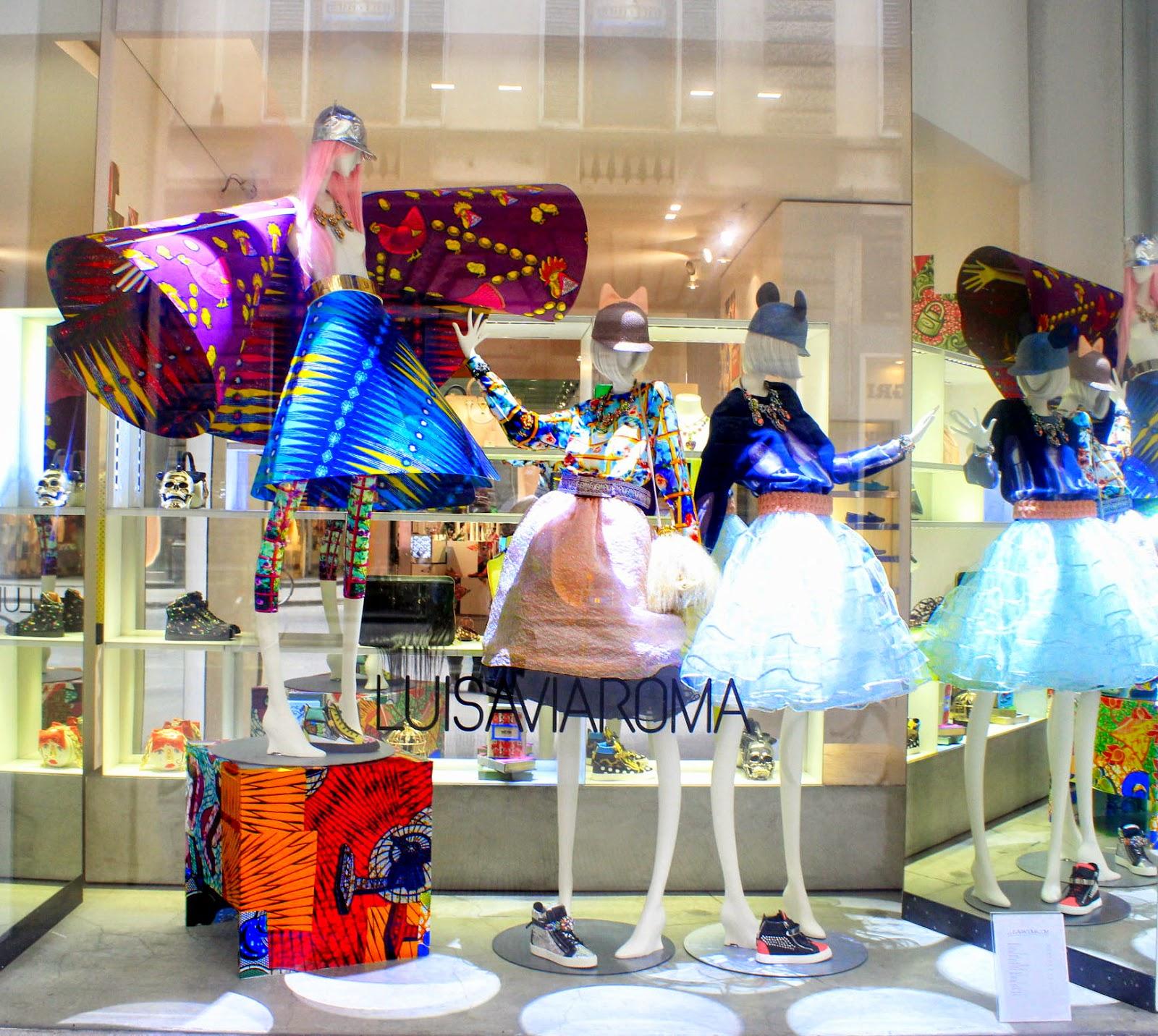 La moda nella citt del rinascimento firenze novembre 2015 for Luisa di via roma