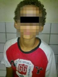 Adolescente infrator é sequestrado durante a madrugada em Macau.