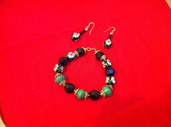 Jadora Bracelet and Earring Set