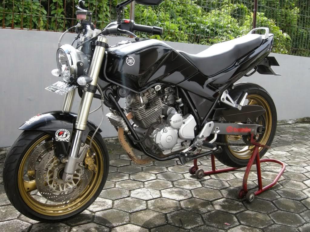 modifikasi motor yahama scorpio terbaru